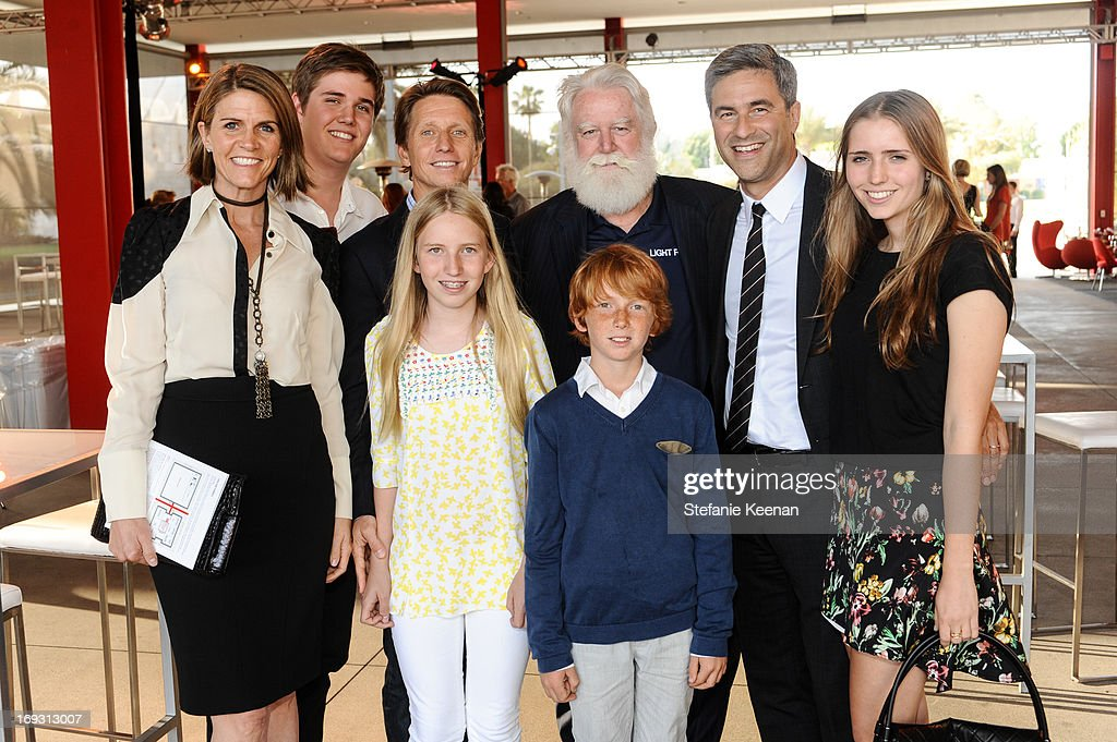 Bell family, James Turrell and Michael Govan attend LACMA Celebrates Opening Of James Turrell: A Retrospective at LACMA on May 22, 2013 in Los Angeles, California.