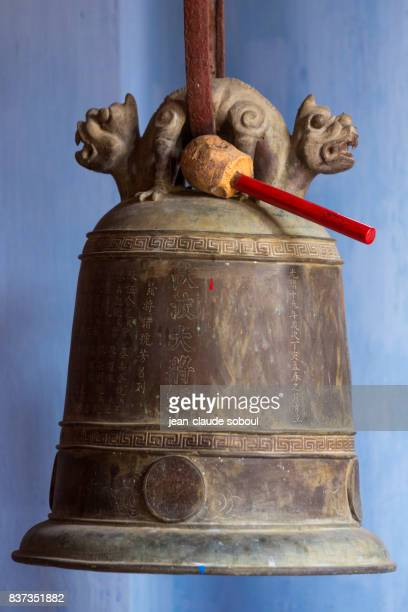 Bell in a Buddha temple in Hoi An city (vietnam)