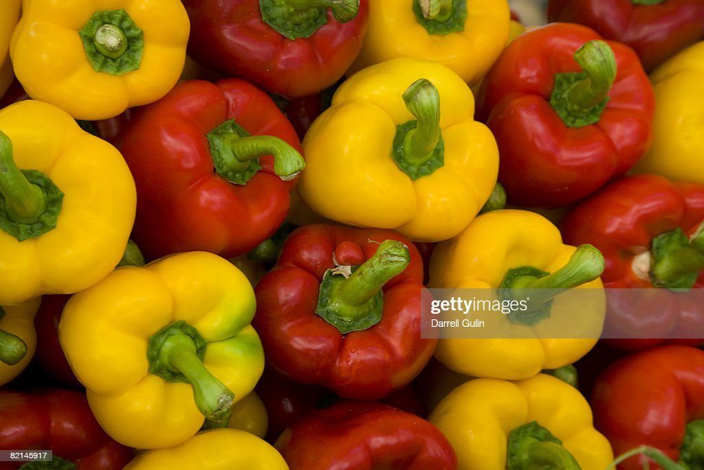 Bell Pepper Reds and Yellow