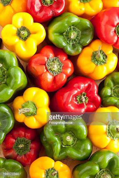 Bell peppers fundo