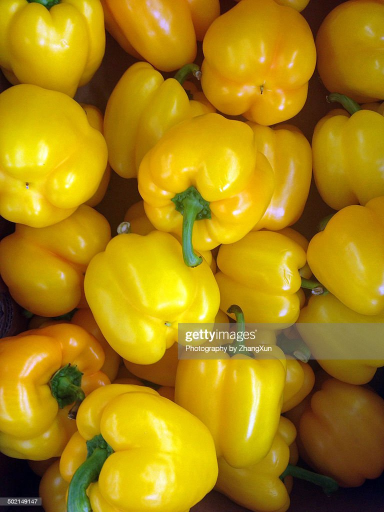 Bell peppers, yellow ones