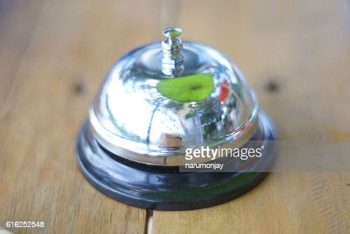 bell ring : Stock Photo