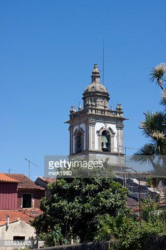 Bell tower in Braga : Stock Photo