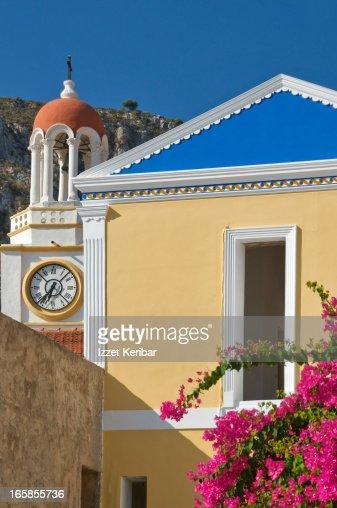 Bell tower of Agios Georgios church