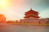 Bell tower of Xi'an city,China