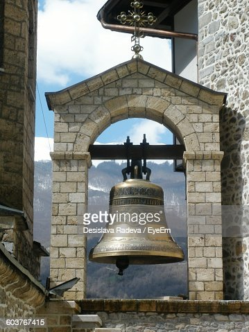Bell Tower On Church