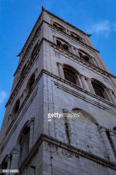 Bell Tower, St. Anastasia's Cathedral in Zadar, CROATIA