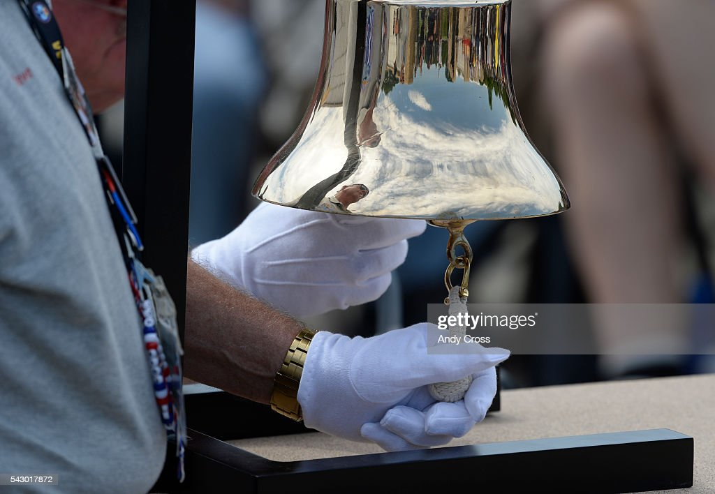 A bell was rung for every Veteran, 30, interned at Ft. Logan June 25, 2016. Missing in America Project interned the unclaimed remains of 30 WWII, Korea, and Vietnam Veterans at the Ft. Logan National Cemetery of June 25, 2016.