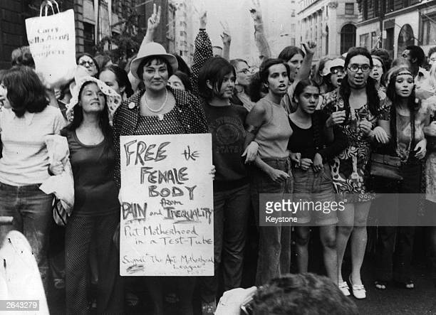 Bella Abzug is running for Congress and is one of the chief organisers of the Women's Liberation Day parade in New York on the 50th anniversary of...
