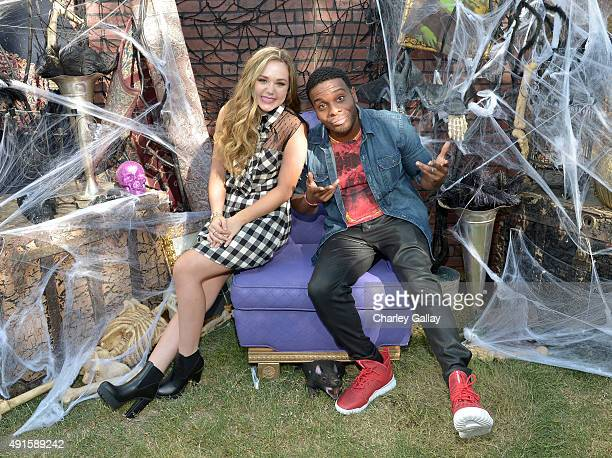 Bella and the Bulldogs star Brec Bassinger and Kel Mitchell from the cast of Nickelodeon's Game Shakers greet kids and fans at a special...