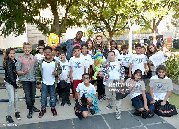 Bella and the Bulldogs star Brec Bassinger and the cast of Nickelodeon's Game Shakers greet kids and fans from Boys Girls Club of Burbank Greater...