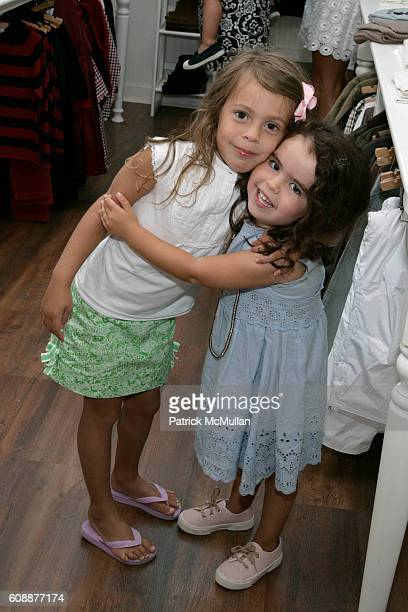 Bella Cuomo and Miranda Cohen Hausman attend HATCHLINGS Spring 2008 'HATCH' Boys Collection hosted by ANNETTE LAUER CRISTINA CUOMO and ANA MARIA...