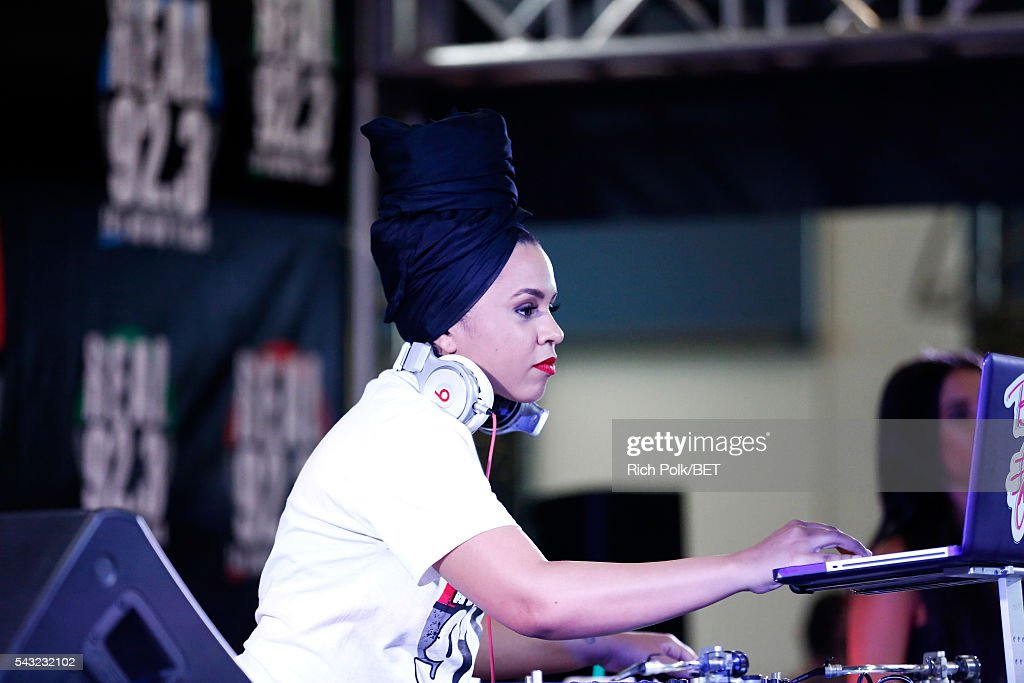 DJ Bella Foxx attends the Fan Fest during the 2016 BET Experience on June 26, 2016 in Los Angeles, California.