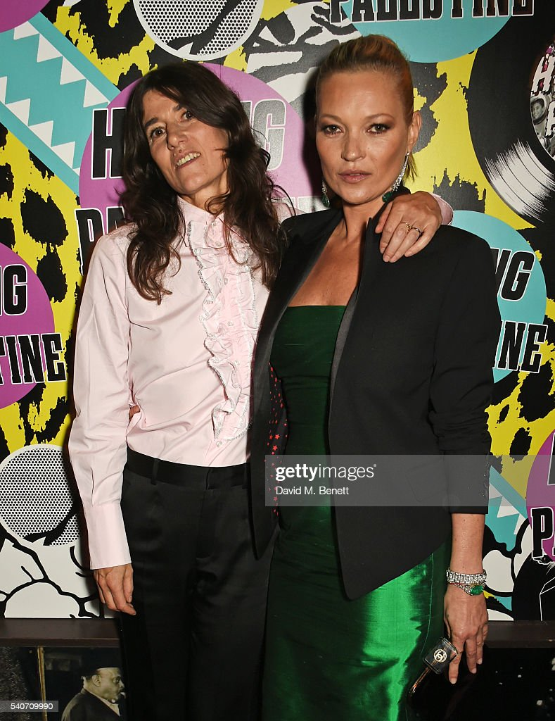Bella Freud and Kate Moss attend 'Hoping's Greatest Hits' the 10th anniversary of The Hoping Foundation's fundraising event for Palestinian refugee...