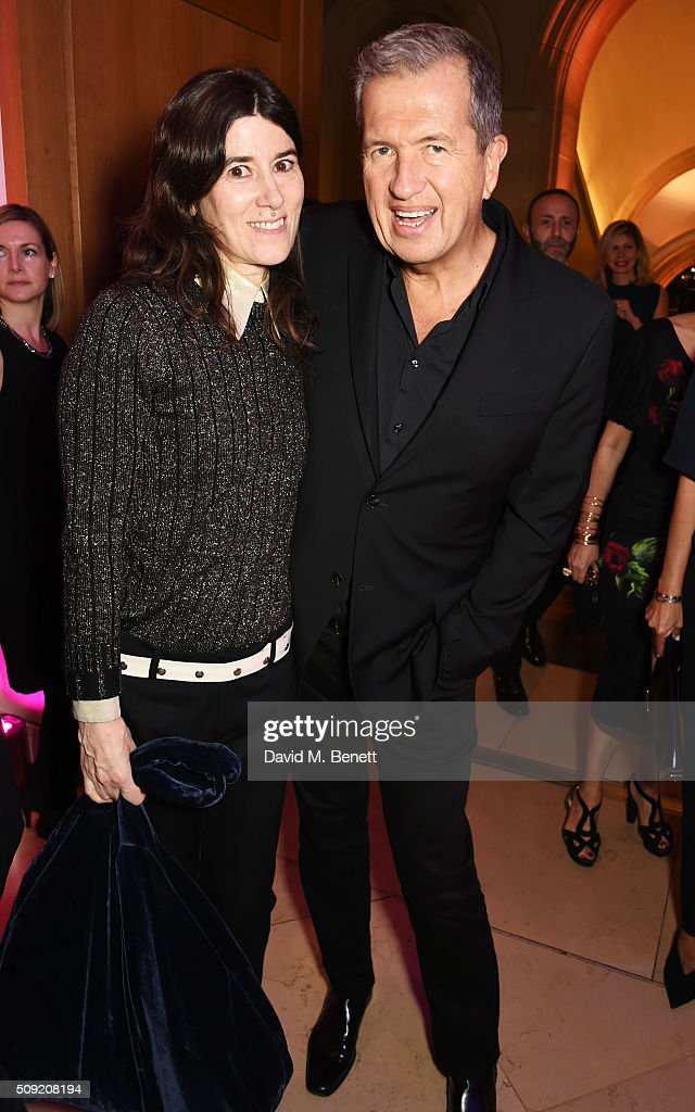 """Alexandra Shulman And Leon Max Host The Opening Of """"Vogue 100: A Century Of Style"""" At The National Portrait Gallery"""