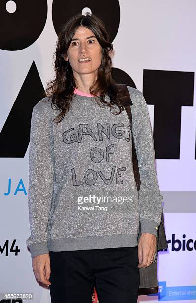 Bella Freud attends the '20000 Days on Earth' screening at Barbican Centre on September 17 2014 in London England
