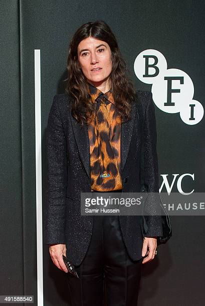 Bella Freud attends the BFI Luminous Funraising Gala at The Guildhall on October 6 2015 in London England