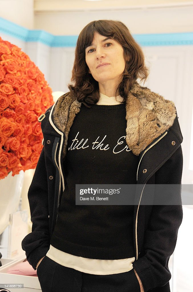 Bella Freud attends the Bicester Village British Designers Collective launch hosted by Alexa Chung on March 21 2012 in Bicester England