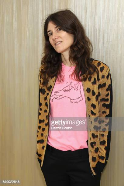 Bella Freud attends the Dior cocktail party to celebrate the launch of Dior Catwalk by Alexander Fury on July 19 2017 in London England