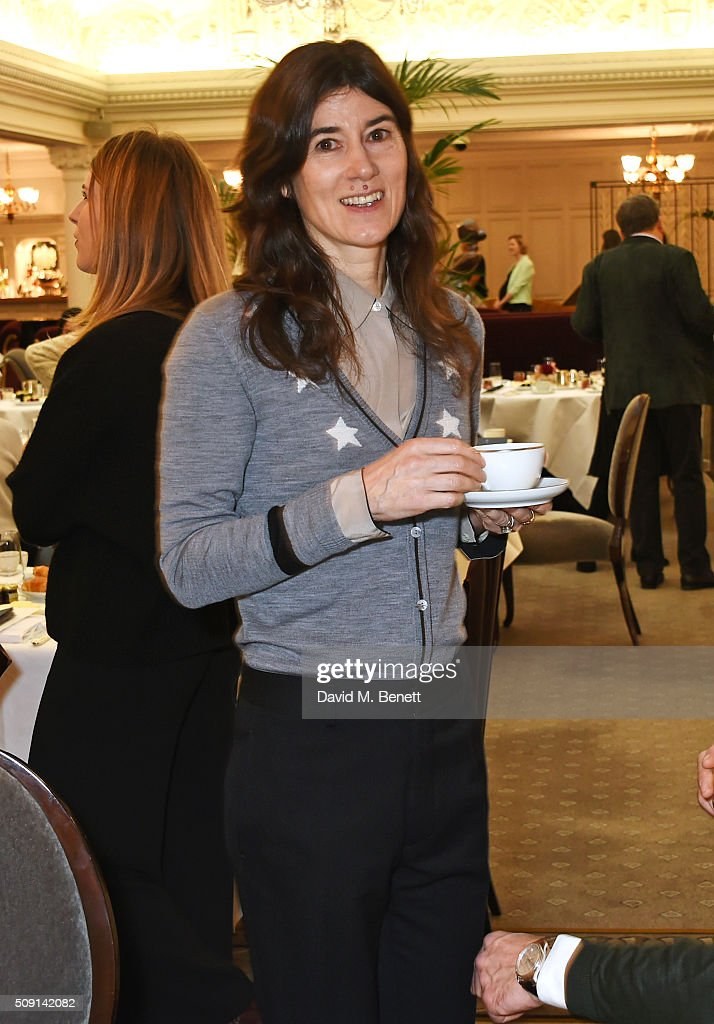 Bella Freud attends the Hoping Breakfast for Palestinian refugee children at Harrods on February 9, 2016 in London, England.