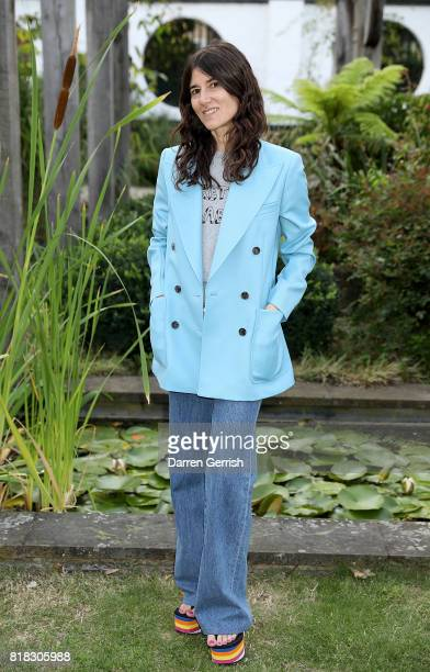 Bella Freud attends the J Brand x Bella Freud garden tea party on July 18 2017 in London England