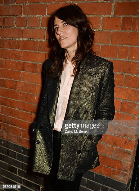 Bella Freud attends the launch of the Kate Moss For Equipment x NETAPORTER collection at The Chiltern Firehouse on June 1 2016 in London England