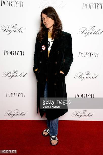Bella Freud attends the screening of 'The Beguiled' at Picturehouse Central on June 27 2017 in London England