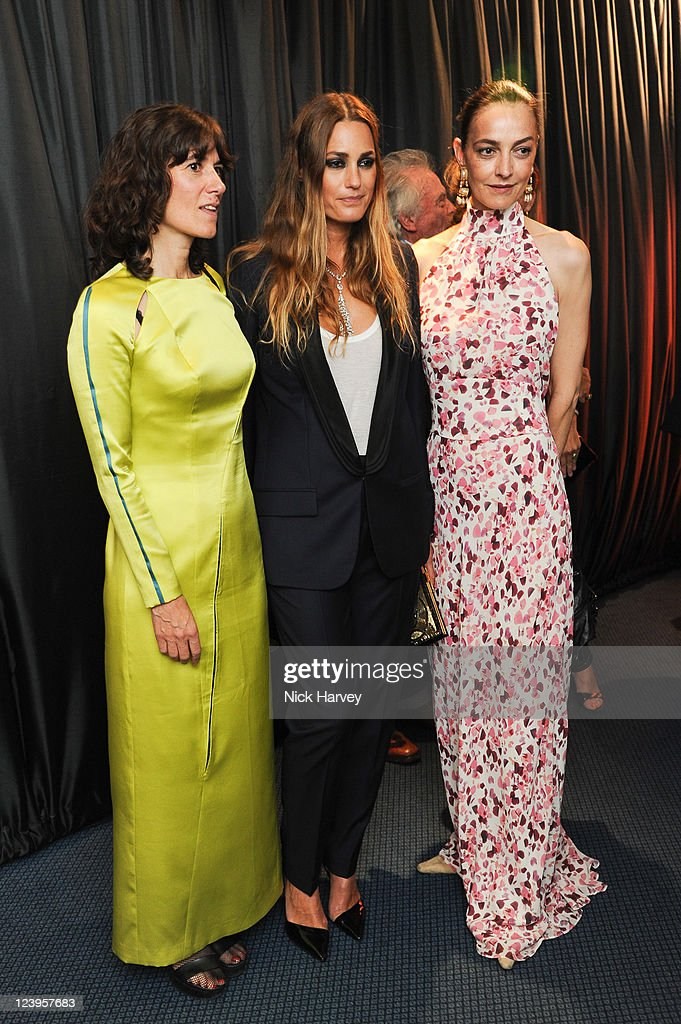 Bella Freud Yasmin Le Bon and Catherine Bailey attends the GQ Men Of The Year Awards at The Royal Opera House on September 6 2011 in London England
