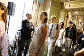 Bottega Veneta - Backstage - Milan Fashion Week SS18