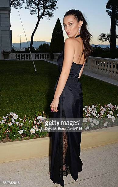 Bella Hadid attends amfAR's 23rd Cinema Against AIDS Gala at Hotel du CapEdenRoc on May 19 2016 in Cap d'Antibes France