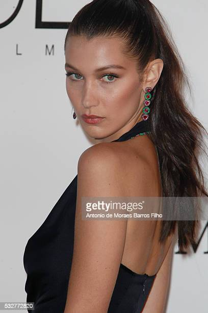 Bella Hadid attends amfAR's 23rd Cinema Against AIDS Gala during The 69th Annual Cannes Film Festival on May 19 2016 in Cap d'Antibes Côte d'Azur