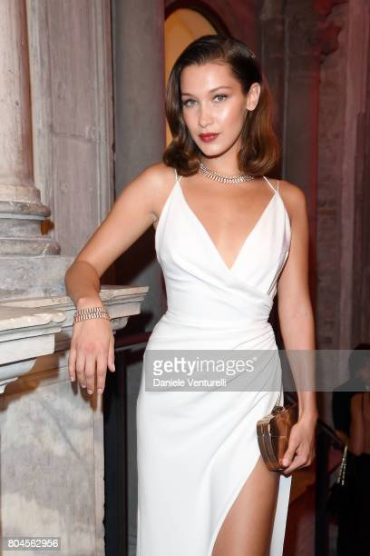 Bella Hadid attends Bvlgari Party at Scuola Grande della Misericordia on June 30 2017 in Venice Italy