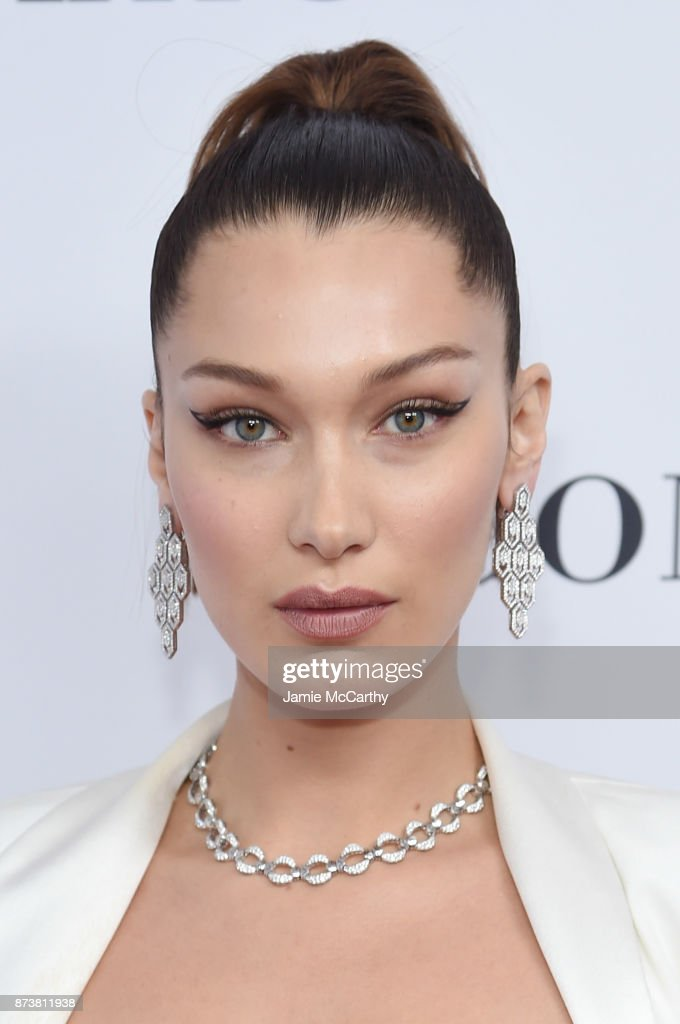 Bella Hadid attends Glamour's 2017 Women of The Year Awards at Kings Theatre on November 13, 2017 in Brooklyn, New York.