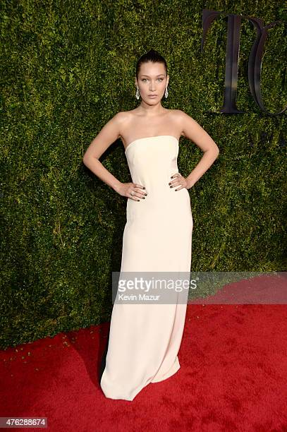 Bella Hadid attends the 2015 Tony Awards at Radio City Music Hall on June 7 2015 in New York City