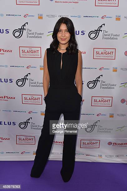 Bella Hadid attends the David Foster Foundation Benefit Concert at Allstream Centre on December 5 2013 in Toronto Canada