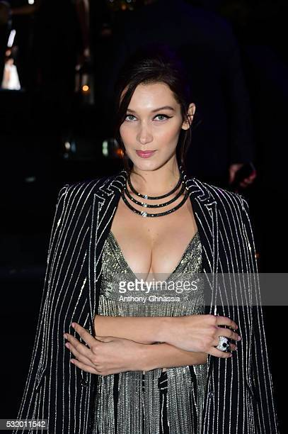 Bella Hadid attends the De Grisogono Party at the annual 69th Cannes Film Festival at Hotel du CapEdenRoc on May 17 2016 in Cap d'Antibes France