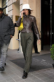 Celebrity Sightings - Paris Fashion Week - Menswear F/W...
