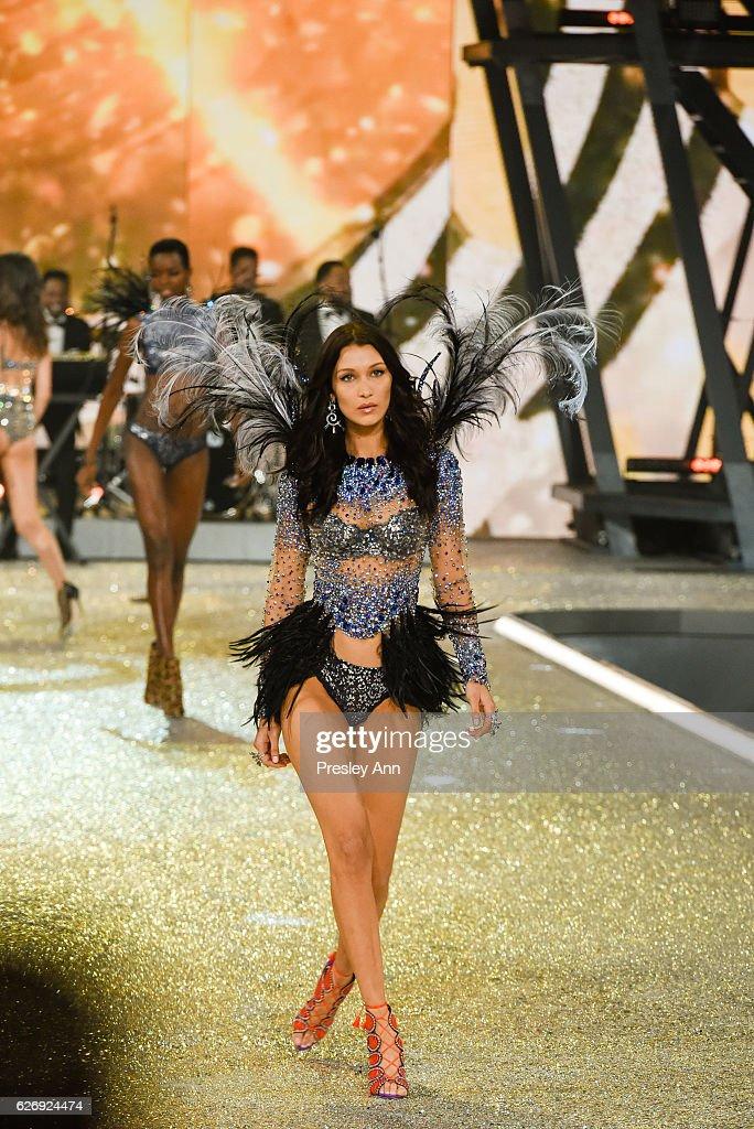 bella-hadid-walks-the-runway-2016-victorias-secret-fashion-show-in-picture-id626924474