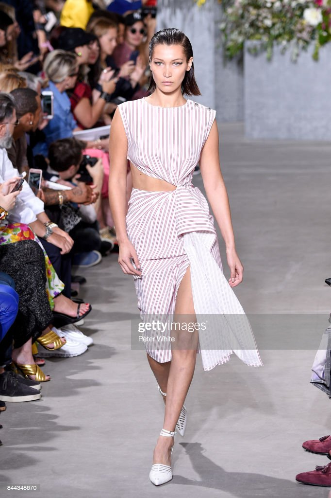 bella-hadid-walks-the-runway-at-the-jason-wu-show-during-the-new-york-picture-id844348670