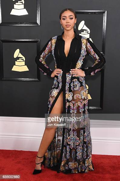 Bella Harris attends The 59th GRAMMY Awards at STAPLES Center on February 12 2017 in Los Angeles California