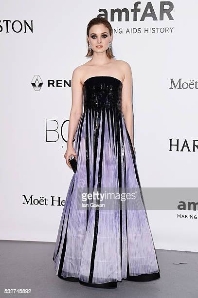 Bella Heathcote arrives at amfAR's 23rd Cinema Against AIDS Gala at Hotel du CapEdenRoc on May 19 2016 in Cap d'Antibes France