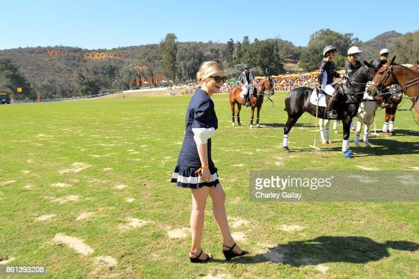 Bella Heathcote at the Eighth Annual Veuve Clicquot Polo Classic on October 14 2017 in Los Angeles California
