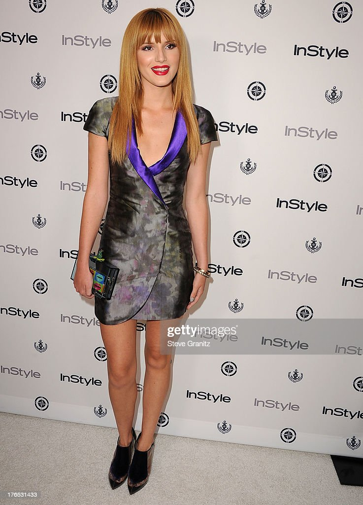 Bella Thorne arrives at the 12th Annual InStyle Summer Soiree at Mondrian Los Angeles on August 14, 2013 in West Hollywood, California.