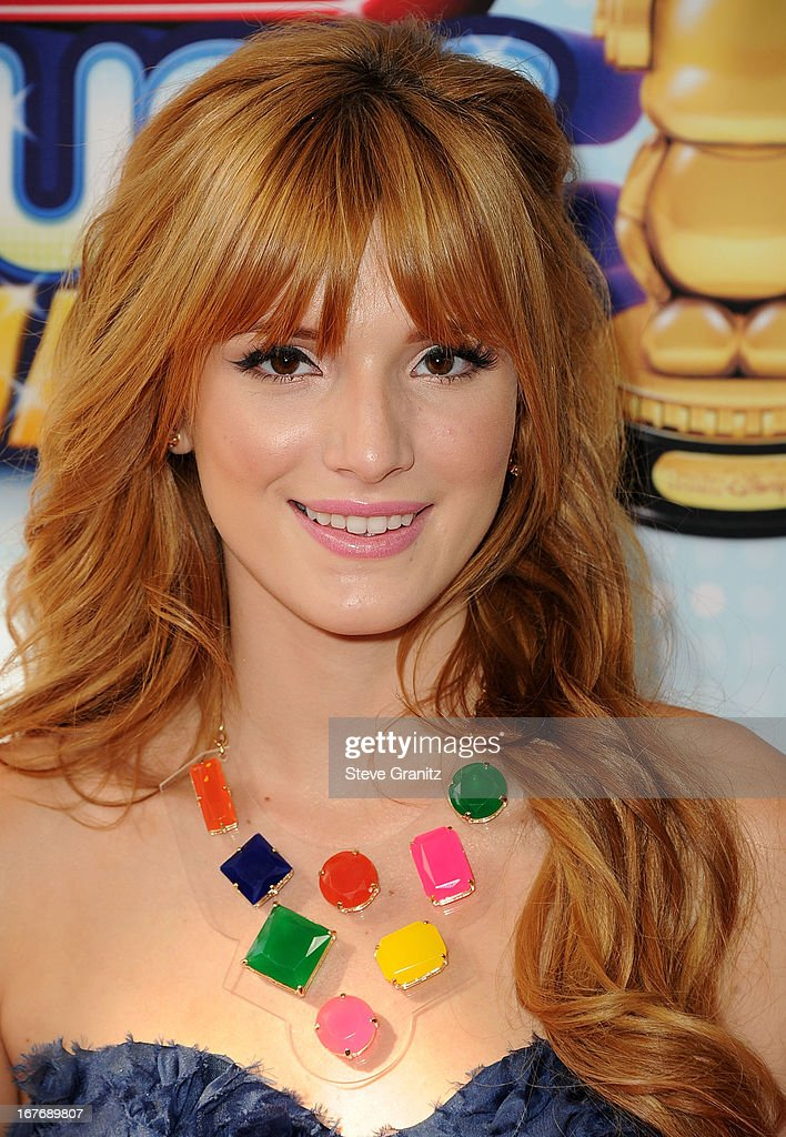 Bella Thorne arrives at the 2013 Radio Disney Music Awards at Nokia Theatre L.A. Live on April 27, 2013 in Los Angeles, California.
