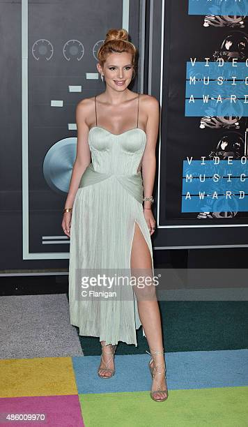 Bella Thorne arrives to the 2015 MTV Video Music Awards at Microsoft Theater on August 30 2015 in Los Angeles California