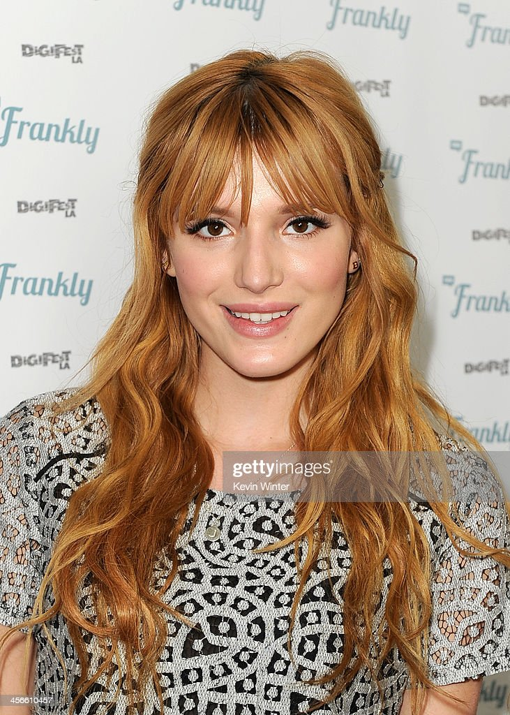 Bella Thorne attends DigiFest LA, The Largest YouTube Music Festival, at Hollywood Palladium on December 14, 2013 in Hollywood, California.
