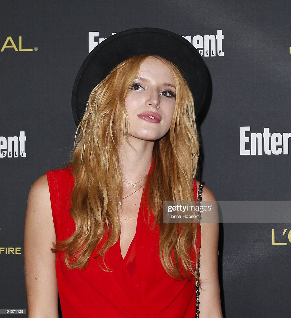 <a gi-track='captionPersonalityLinkClicked' href=/galleries/search?phrase=Bella+Thorne&family=editorial&specificpeople=5083663 ng-click='$event.stopPropagation()'>Bella Thorne</a> attends Entertainment Weekly's Pre-Emmy party at Fig & Olive Melrose Place on August 23, 2014 in West Hollywood, California.