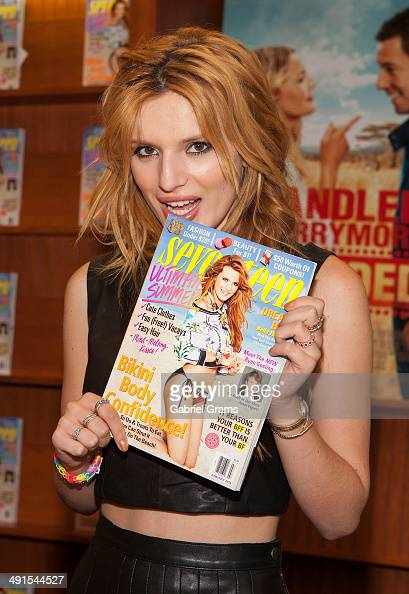 Bella Thorne attends her Seventeen Magazine cover celebration at Barnes Noble Oak Brook Center on May 16 2014 in Oak Brook Illinois