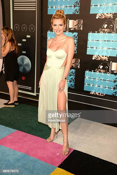 Bella Thorne attends the 2015 MTV Video Music Awards at Microsoft Theater on August 30 2015 in Los Angeles California