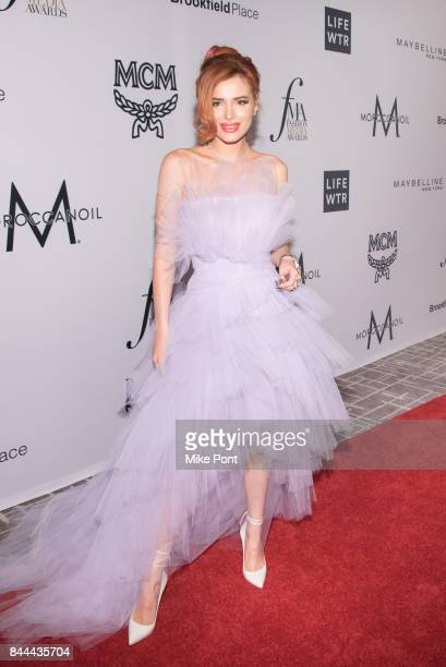 Bella Thorne attends the Daily Front Row's Fashion Media Awards at Four Seasons Hotel New York Downtown on September 8 2017 in New York City